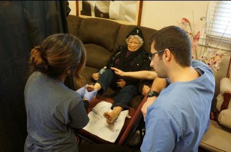 Assessing a patient
