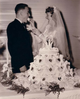 June 19, 1948 Wedding Bells. Merton & Roberta.