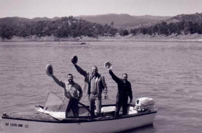 1964 Summer Fishing Trip at Lake Nacimiento with Ted Deffinger & Bob Hughes