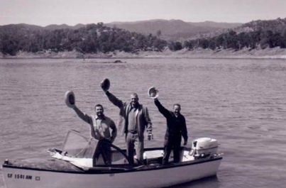 1964 Summer Fishing Trip at Lake Nacimiento with Ted Deffinger & Bob Hughes
