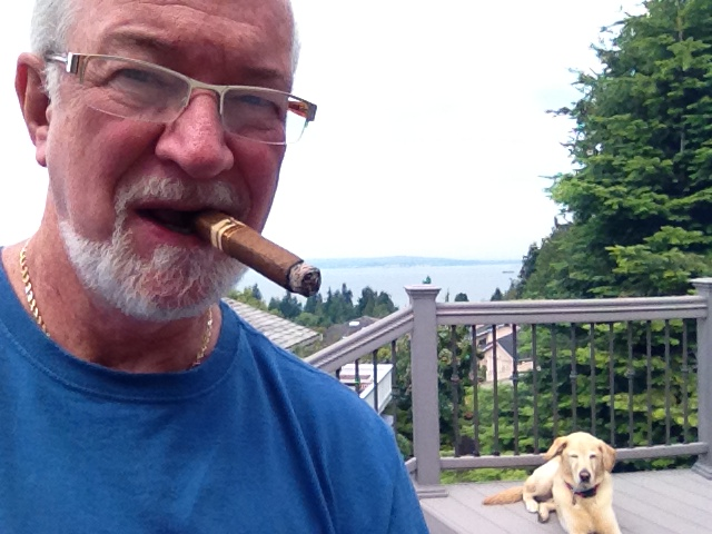 10. Enjoy hand made cigars and my dog